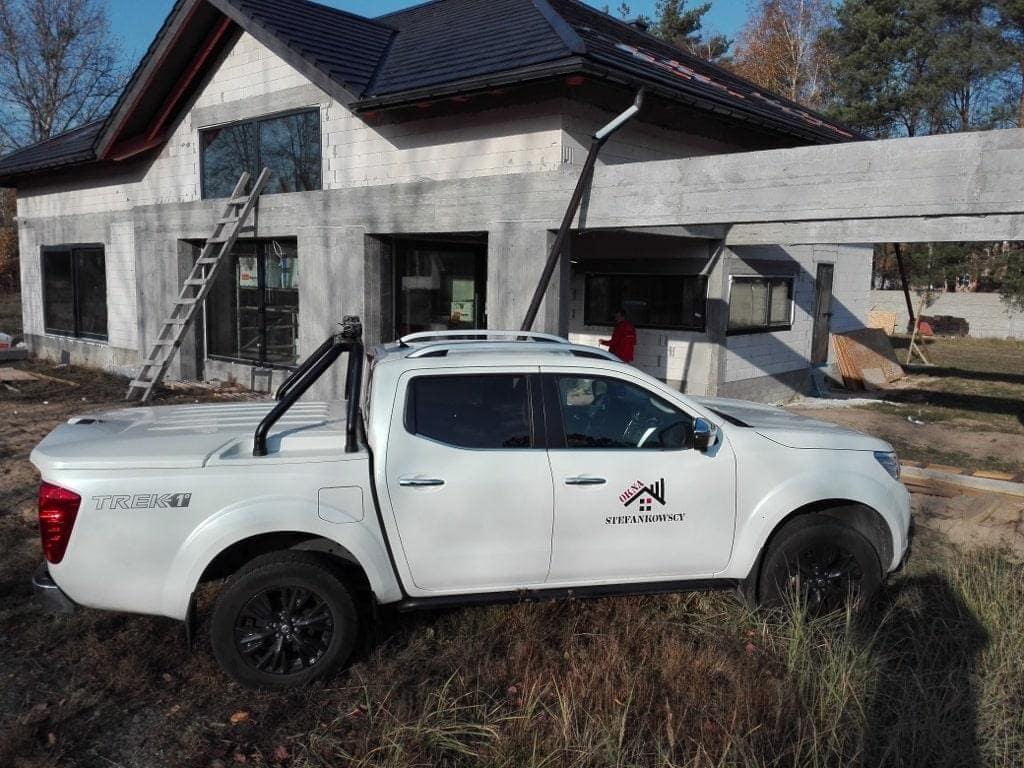 samochód okna Stefankowscy